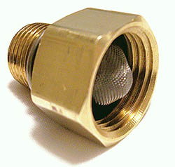 Pressure Washer Inlet Filter Fitting Garden Water Hose Fitting